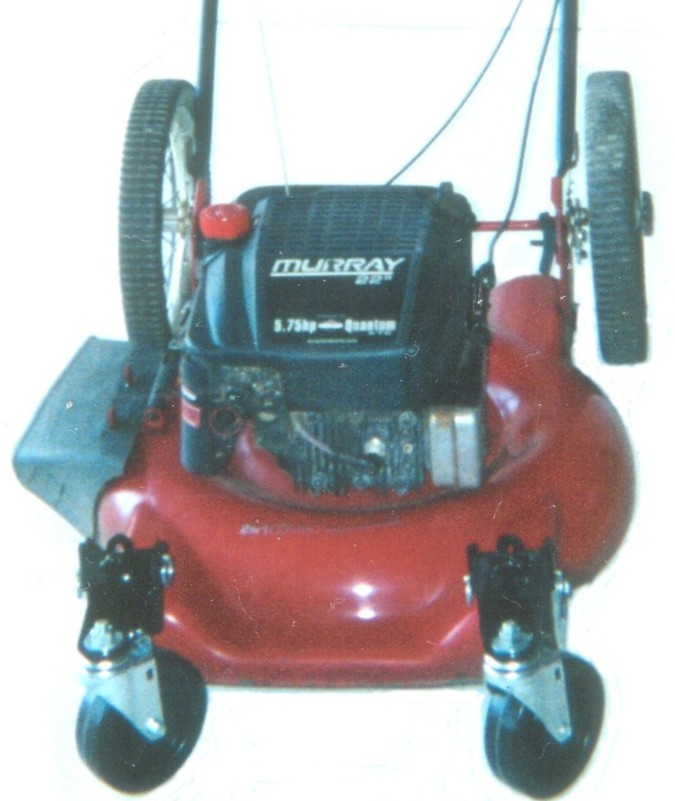Hi Wheel Push Mower